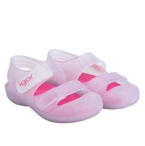 Toddler Girl's NWT Igor Jelly Sandals